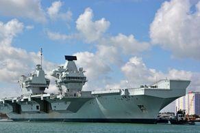 کرونا گریبانگیر نیروی دریایی انگلیس شد!