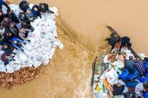 بحزران بزرگ در چین/ 2 میلیون نفر آواره شدند!