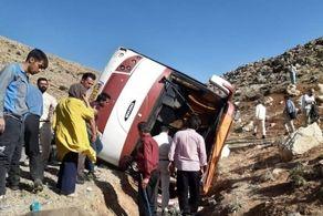 پلیس علل واژگونی اتوبوس خبرنگاران محیط زیست و سربازان اعلام کرد