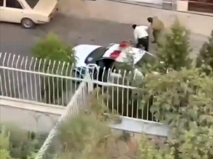 واکنش پلیس به فیلم برخورد نیروی انتظامی با فرد سگ گردان