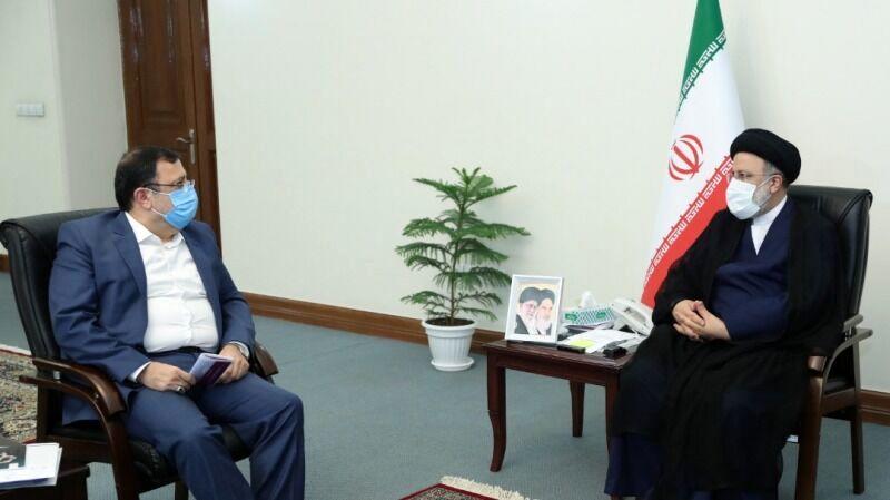 دبیر شورای عالی فضای مجازی با رییس جمهوری منتخب دیدار کرد
