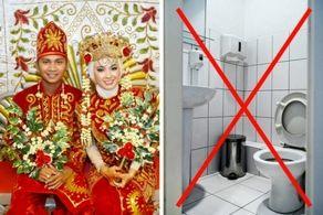 عروس در این شهر تا 3 روز بعد عروسی حق دستشویی رفتن ندارد!+عکس