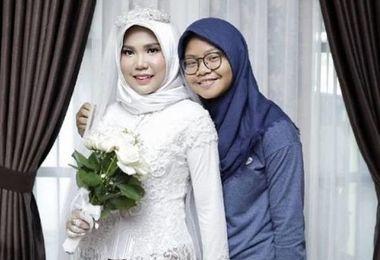 برگزاری مراسم عروسی عجیب بدون داماد!+ عکس