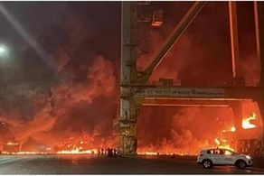 امارات در آتش!+فیلم