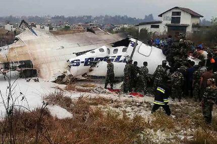 هواپیمای نظامی سقوط کرد/ ۱۳ نفر در این حادثه کشته شدند