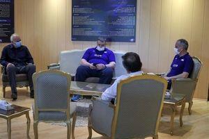 نشست محمدرضا داورزنی با آلکنو