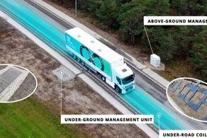 این جاده خودروهای الکتریکی را شارژ میکند