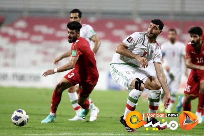 در حاشیه بازی تیم ملی ایران و بحرین
