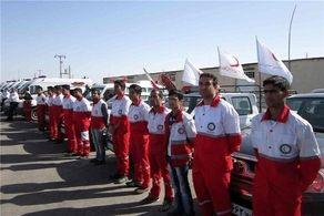 هشت تیم عملیاتی هلال احمر کردستان در آماده باش کامل هشتند