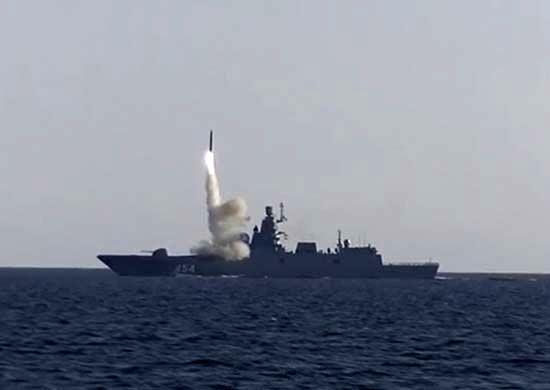 جدیدترین آزمایش موشکی روسیه انجام شد