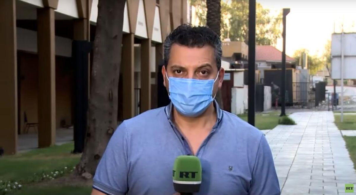 یک خبرنگار بازداشت شد