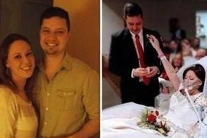 مرگ تلخ عروس چندساعت بعد از عروسی+ عکس