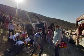 تمام جزئیات حادثه دلخراش واژگونی اتوبوس حامل خبرنگاران محیط زیست تاکنون+عکس