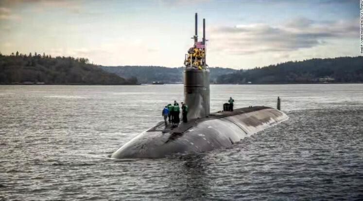 واکنش پکن به برخورد زیردریایی هسته ای آمریکا با شی ناشناس در دریای چین