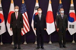 آمریکا، ژاپن و کره جنوبی درباره مساله هستهای کرهشمالی دیدار میکنند!