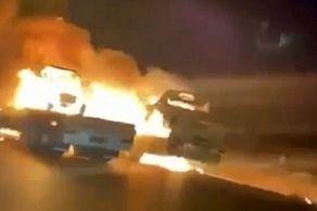 حمله شدید به کاروان نظامیان آمریکا+جزییات