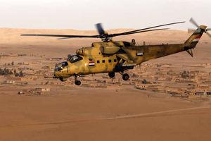 بالگرد نظامی در عراق سقوط کرد/پنج نفر کشته شدند