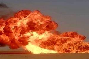 خط لوله گاز منفجر شد!
