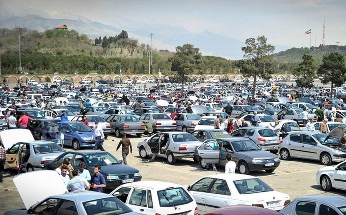 قیمت خودرو در بازار آزاد + جدول