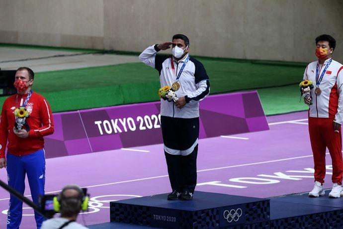 لحظات تاریخی از کسب مدال طلا تیراندازی جواد فروغی در TOKYO 2020 / گزارش تصویری
