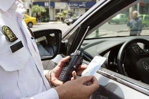 جریمه روزانه ۱۶۶۶ خودرو به خاطر تخلفات پلاک در تهران