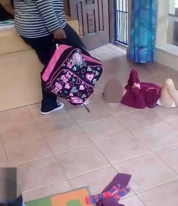 رفتار زشت و شرم آور پرستار بیرحم با کودک ناتوان + عکس