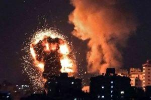 غزه موشکباران شد+جزییات