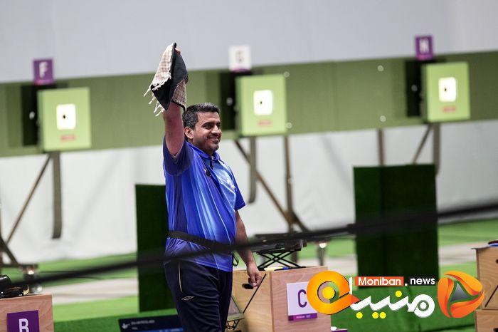 کسب مدال طلا تیراندازی جواد فروغی