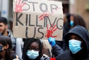 معترضان قتل شهروند سیاه پوست آمریکایی خواستار اجرای عدالت شدند