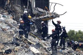 کشتههای حادثه ریزش ساختمان در فلوریدا به ۴۶ تن افزایش یافت