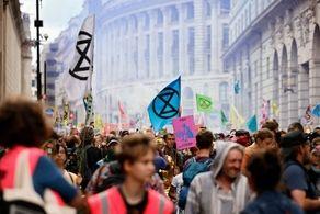 اقدام عجیب دولت انگلیس/370 فعال محیط زیست بازداشت شدند!