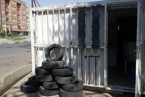 ایجاد اولین غرفه بازیافت لاستیکهای فرسوده شهر تهران در محله سهیل شمالی منطقه ۱۹