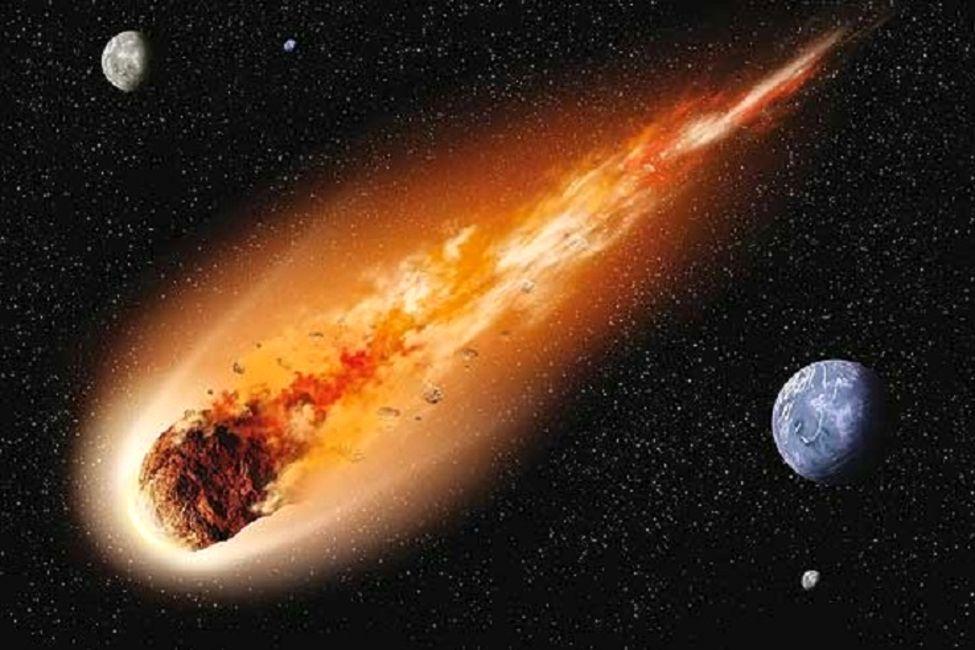احتمال برخورد یک سنگ فضایی به زمین