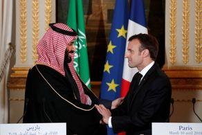 رییسجمهوری فرانسه و ولیعهد سعودی با یکدیگر گفت و گو کردند+جزییات