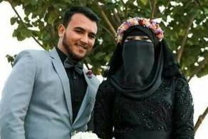 لباس جنجالی این عروس و داماد غوغا به پا کرد! + عکس