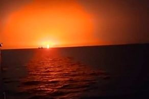 انفجار بزرگ در دریای خزر+دلیل