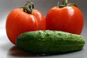 عوارض وحشتناک خوردن خیار و گوجه فرنگی با هم