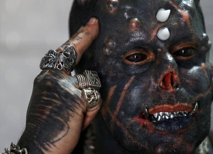 تصاویر جنجالی از شیطان واقعی!