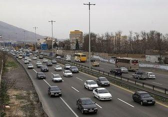 معابر پایتخت زیر بار ترافیک سنگین