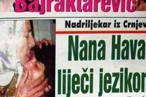 این زن انواع بیماری را با لیس زدن، درمان میکند! + عکس
