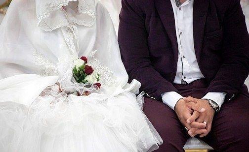 تف کردن به عروس برای خوش آمد گویی!
