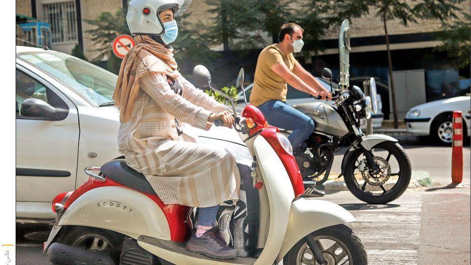 وعده پلیس برای موتور سواری زنان+ فیلم