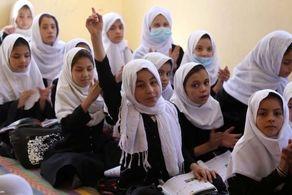 طالبان فقط به این گروه از دختران افغانستانی اجازه داد تا به مدرسه بروند+فیلم