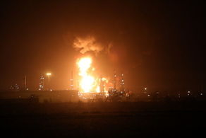 آخرین وضعیت آتش در پالایشگاه تهران