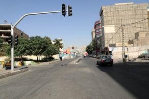 اصلاح هندسی و ایمن سازی خیابان شهید صادقی در منطقه ۱۹