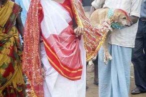 ازدواج دردناک دختر نوجوان طلسم شده با سگ! + عکس