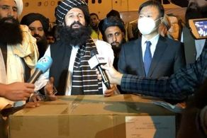 محموله بزرگ چین به دست طالبان رسید
