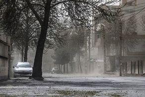 تداوم وزش باد در تهران