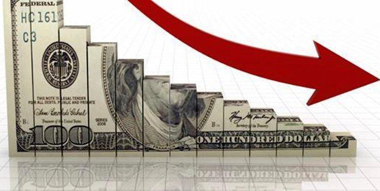 دلار افت کرد